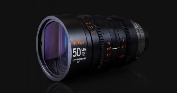 Vazen Launches 50mm T2.1 Anamorphic Lens for Full-Frame EF and PL
