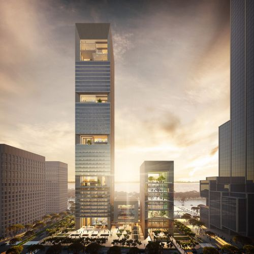 "GMP Wins Competition for Shenzhen Bay ""Culture Tower"""