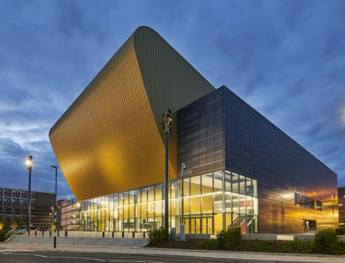 Bonus Arena Hull / AFL Architects