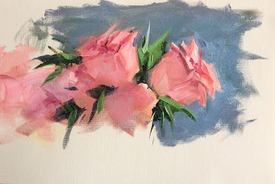 FLORAL STUDY by TOM BROWN