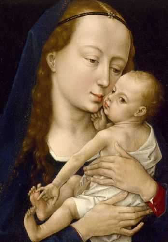Madonnas attributed to Rogier van der Weyden 1400-1464