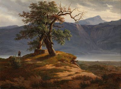 Thomas Fearnley, Landscape with a Wanderer