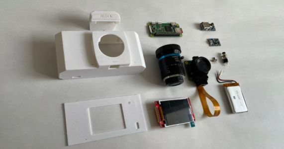 RUHAcam Is A Raspberry Pi-Powered Digital Camera You Can 3D Print