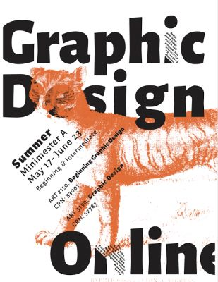 Summer On-Line Graphic Design at Clemson University, May 17-June 23, 2017