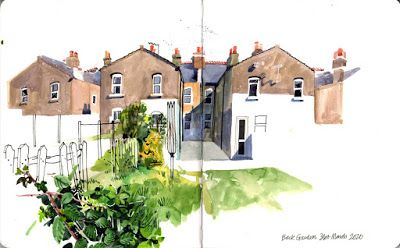 Report from London: Urban sketching in the age of COVID-19