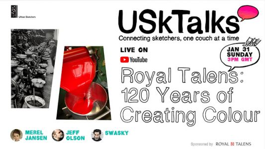 Next USK Talks: Royal Talens: 120 Years of Creating Color