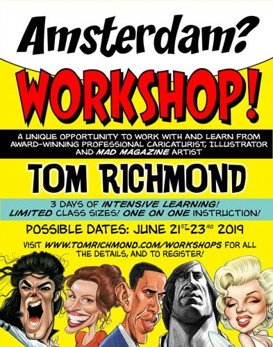 Workshop in Amsterdam?
