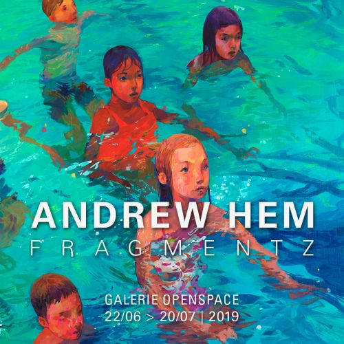 "Andrew Hem ""Fragmentz"" Solo Exhibition Paris' Galerie Openspace"