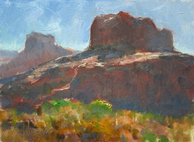 Sedona Plein Air Painting Workshop Wrap-Up