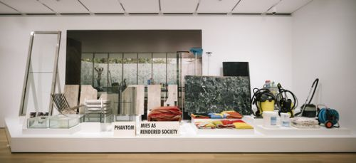 PHANTOM. Mies as Rendered Society by Andrés Jaque recently acquired by the Art Institute of Chicago